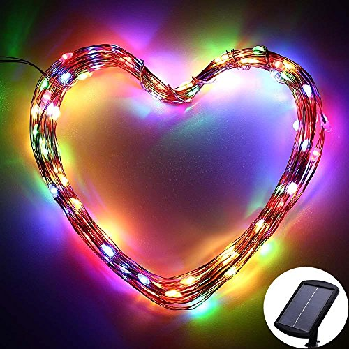 120 Led Solar Powered String Lights By Icicle Starry
