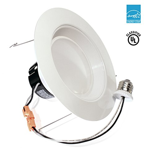 13watt 5 6 Inch Energy Star Ul Listed Dimmable Led Downlight Retrofit Baffle Recessed Lighting Kit Fixture 2700k Warm White Ceiling Light Wet