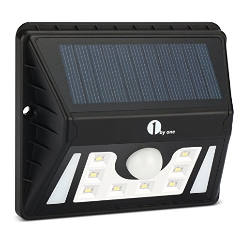 1byone Weatherproof Solar Powered Outdoor LED Light 3