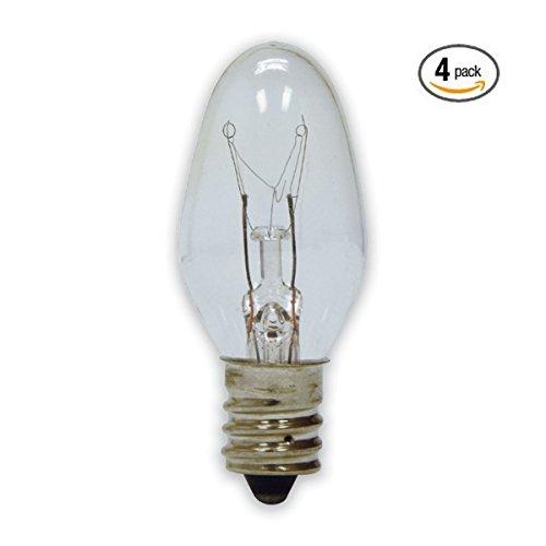 15 Watt Bulb (4-Pack) Replacement for Scentsy Plug-In Warmer, KE-15WLITE Reviews