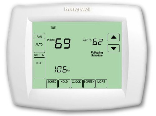 Honeywell TH8320U1008 7day 3/h 2/c Vision PRO 8000 Touchscreen Programmable Thermostat