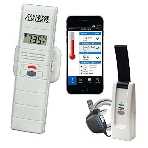 La Crosse Alerts 926-25100-WGB Wireless Monitor System with Temperature & Humidity