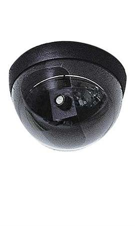 "Surveillance Dome with Camera.• Mini Simulated Dome Camera • 5″ Diameter • Mounting Bracket Included.mini Surveillance Dome with Surveillance Camera Has a 5""diameter, Smoke Plastic Dome with Clear Window Revealing a Realistic, Simulated Camera. Affixes Onto Ceiling Tile with Two Screws, Which Are Included."