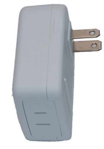 Simply Automated ZS25O-I Single-Rocker with Oval 4-Button Faceplate, Ivory