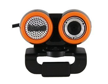 0.48Mpx USB Webcam PC Camera with Microphone and Plastic Clip (Black) + Worldwide free shiping Reviews