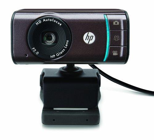 HP Webcam HD-3110 – 720P Autofocus Widescreen Webcam with TrueVision