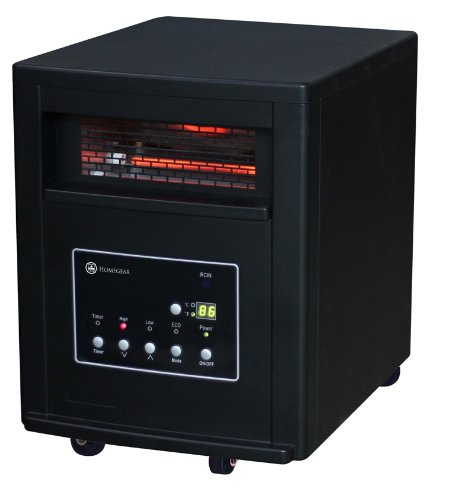 Homegear Pro 1500w Large Room Infrared Space / Cabinet Heater