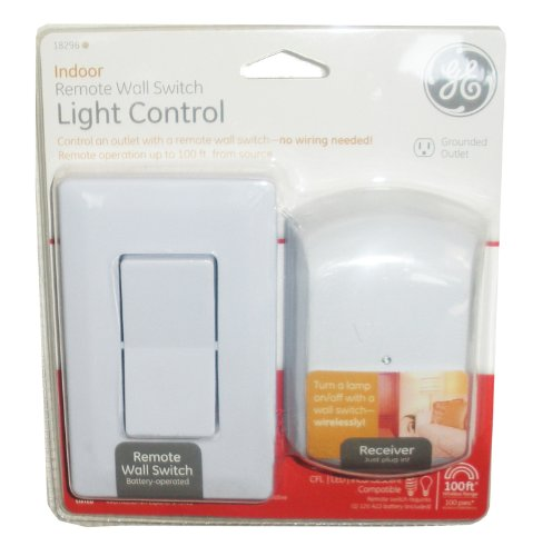 GE Remote Wall Switch & Receiver Indoor Light Control Reviews