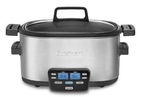 Cuisinart MSC-600 3-In-1 Cook Central 6-Quart Multi-Cooker: Slow Cooker, Brown/Saute, Steamer Reviews