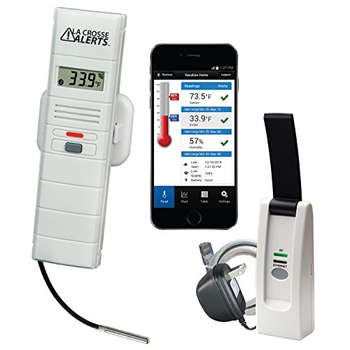 La Crosse Alerts 926-25102-GP Wireless Monitor System Set with Wet Probe