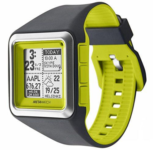 MetaWatch Strata App Based Smart Watch for Iphone 4S and Above Android 2.3 And Above