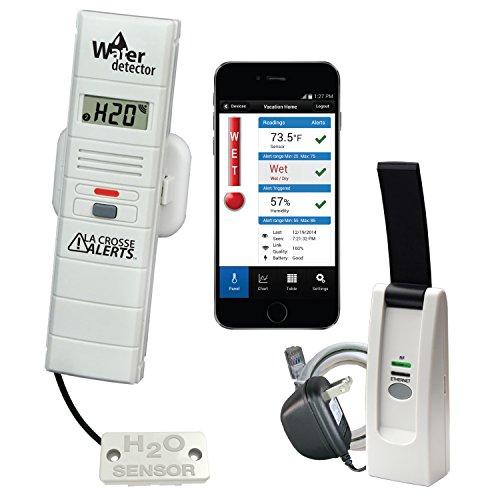 La Crosse Alerts 926-25104-WGB Wireless Monitor System Set with Water Leak Probe