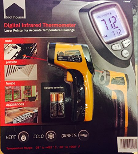 Tool House Digital Infrared Thermometer Reviews