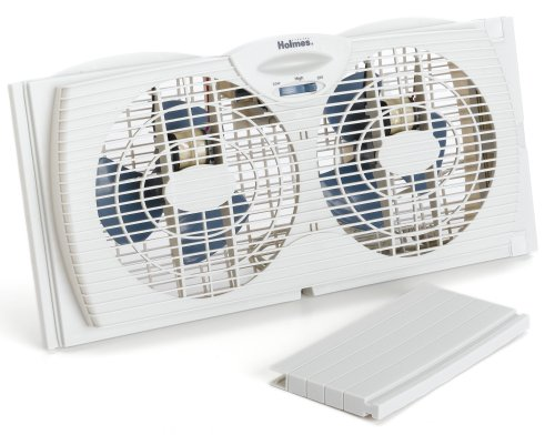 Holmes HAWF2021 Dual Blade Twin Window Fan
