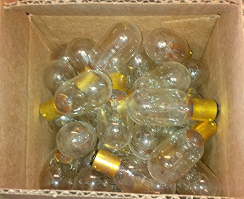 Box of 40 T8 25w 120v Bayonet Base Light Bulbs Double Contact Appliance Clear