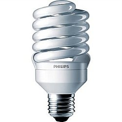 Philips 414078 – EL/mdT2 23W 5K Twist Medium Screw Base Compact Fluorescent Light Bulb
