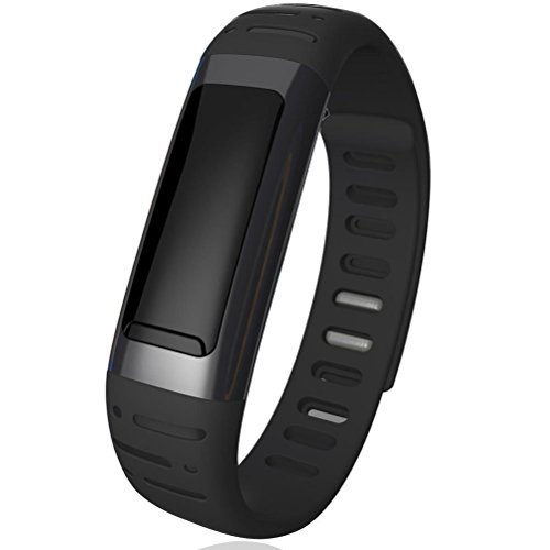 2014 New Fashion Hand Free Waterproof U9 Bluetooth Smart Bracelet Watch Calorie Counter & Pedometer Multifunctional for IOS Android Phone Samsung Sony,Oppo, HTC,Huawei…(BLACK)