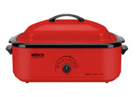 4818-12 18 Qt Red Roaster Oven