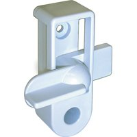 Ideal Security SK5W Lock Deadbolt Storm Door – White