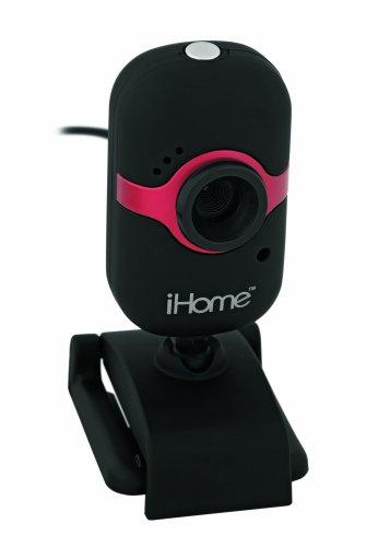 iHome MyLife Webcam (Black/Red)