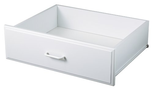 Easy Track RD2608 Closet Hutch Drawer, 7.5-Inch, White