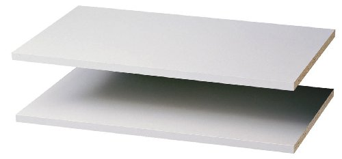 Easy Track RS1423ON 2 Count Closet Shelves, 24-Inch, White