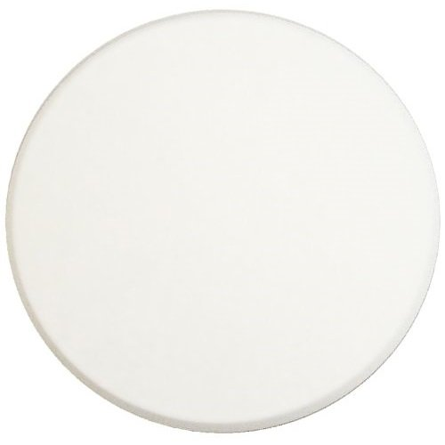 5″ WHITE Door stop Knob handle Wall Shield Plate Protector – self adhesive