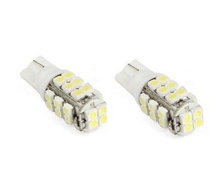 Qich® 2X T10 LED Bulb 3528 SMD Green Car Side Wedge Light Lamp Tail Light 12V