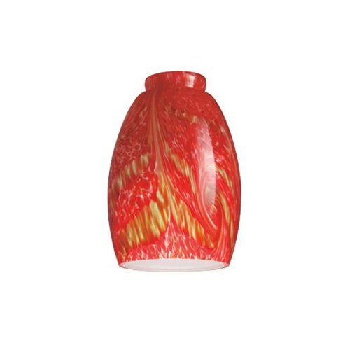 Westinghouse Lighting Corp 8140500 2-1/4-Inch  Van Gogh Glass Shade