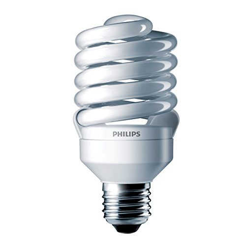 Philips 414052 – EL/mdT2 23W 3.5K Twist Medium Screw Base Compact Fluorescent Light Bulb