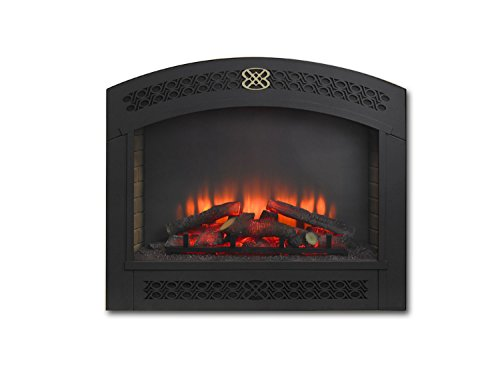 GreatCo Gallery Series Built-in Electric Fireplace with Full Arched Front, 34-Inch Reviews