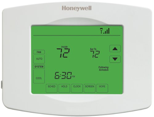 (One Piece ) Air Thermostat- Therm Wifi Touchscrn From Honeywell (Part Number RTH8580WF1007/W)