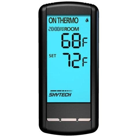 Skytech Millivolt Wireless On/Off With Thermostat Touchscreen Remote And Receiver – Sky-5301