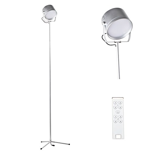 5 Feet Remote Control Led Floor Lamp For Living Room Bedroom 700 Lumens Bright Bulbs