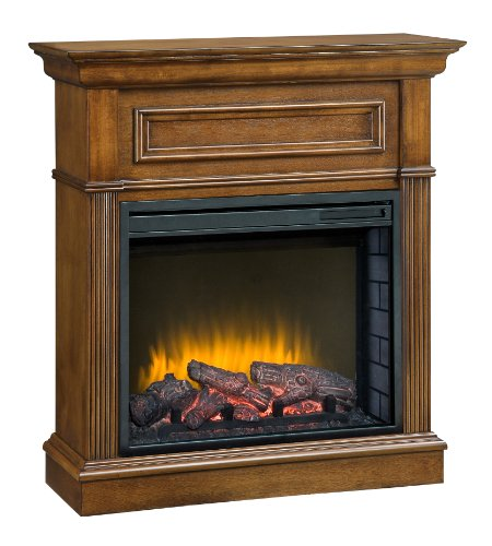 Pleasant Hearth 23-Inch Hawthorne Heritage Compact Electric Fireplace