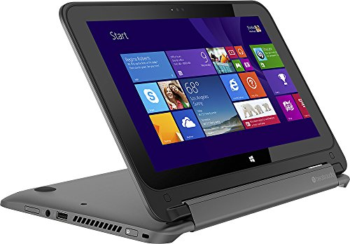 HP Pavilion 11t x360 Ultra-Portable 2-in-1 Touch-Screen Laptop Intel Pentium Quad Core up to 2.4 GHz 11.6-inch HD Touchscreen Display 500GB Hard Drive BEATS AUDIO Web Cam WiFi Bluetooth Windows 8.1 Reviews