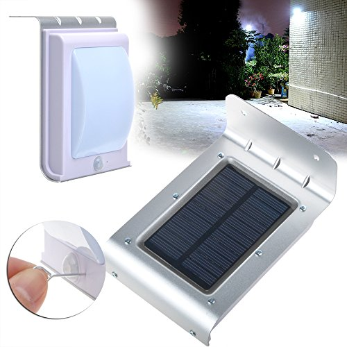 Ablegrid 174 Solar Motion Sensor Lights 16 Led Lamp Outdoor