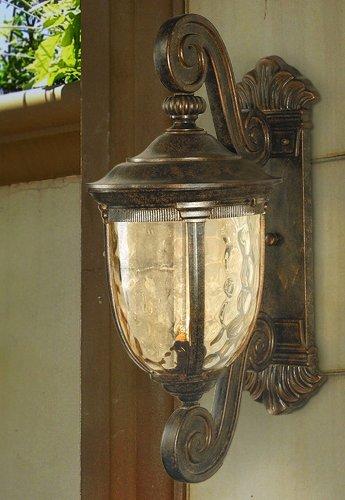 Bellagio Collection 24 High Outdoor Wall Light Bulbs