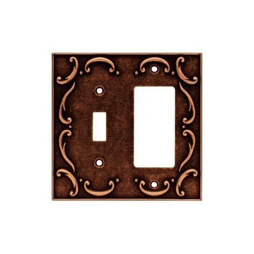 Brainerd 64248 French Lace Single Switchdecorator Wall Plate