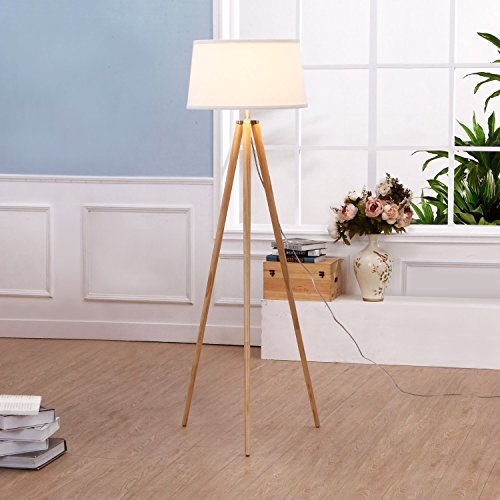 Brightech U2013 Emma Tripod Floor Lamp U2013 Classic Design For Contemporary Or Traditional  Living ...