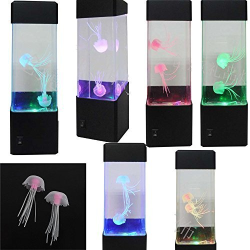 Calover Jellyfish Lamp Electric Jellyfish Tank Aquarium Color