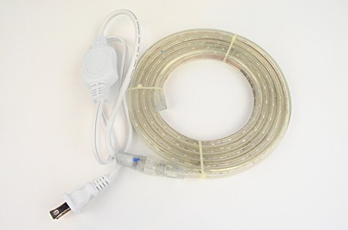 cbconcept 3 3 feet 120 volt led smd3528 flexible flat led strip rope light christmas. Black Bedroom Furniture Sets. Home Design Ideas