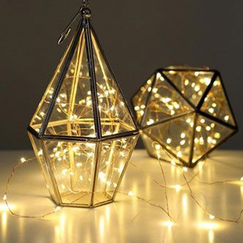 CMYK® 3 Pack Led Copper Wire Lights, 20 Micro Starry LEDs ...