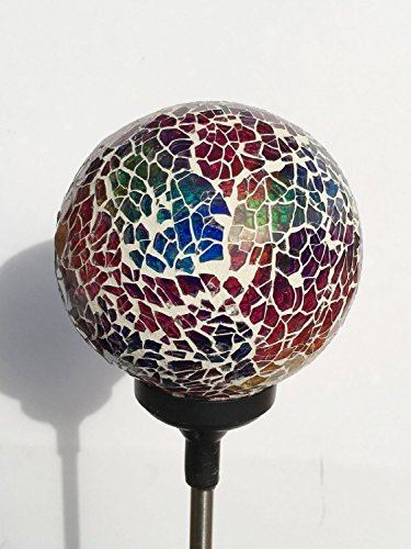 colorful ball solar lights whitem003r solar power multi color color changing led mosaic. Black Bedroom Furniture Sets. Home Design Ideas