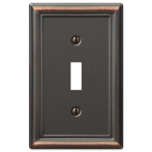 Decorative Wall Switch Outlet Cover Plates  Oil Rubbed