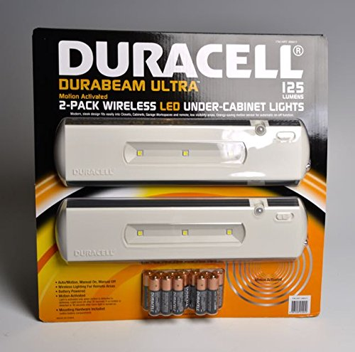 Duracell Led Under Cabinet Light 2 Pack Bulbs