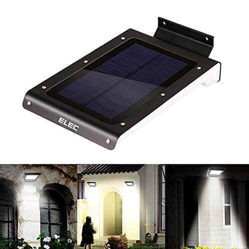 affordable elec solar lights led super bright wireless powered motion sensor light with dusk to. Black Bedroom Furniture Sets. Home Design Ideas