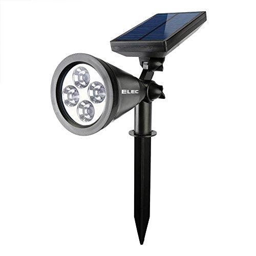 Elec Solar Spotlight Wall Lights Waterproof 180 176 Angle