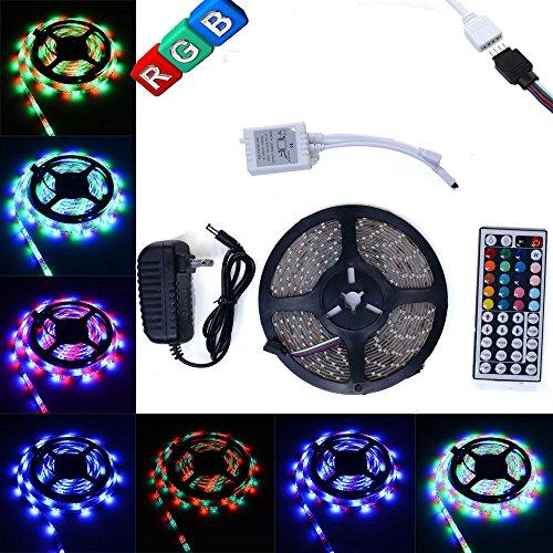 Supernight Tm 16 4 Ft Rgb Color Changing Kit With Led: EconoLed(TM) 5M/16.4 Ft SMD 3528 RGB 300 LED Color