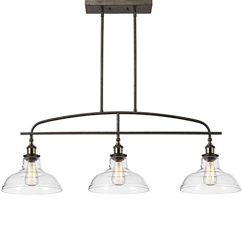 Ecopower Kitchen Linear Island Pendant Light Vintage Lamp
